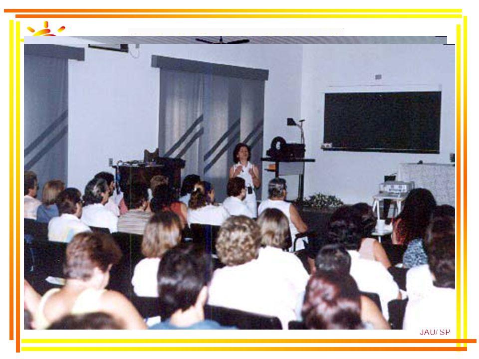LMQM/2002 SMS JAÚ/ SP Experiências Inovadoras Metodologia Profissionais de Saúde - UBS Profissionais de Educação Agentes Comunitários - PSF Voluntário