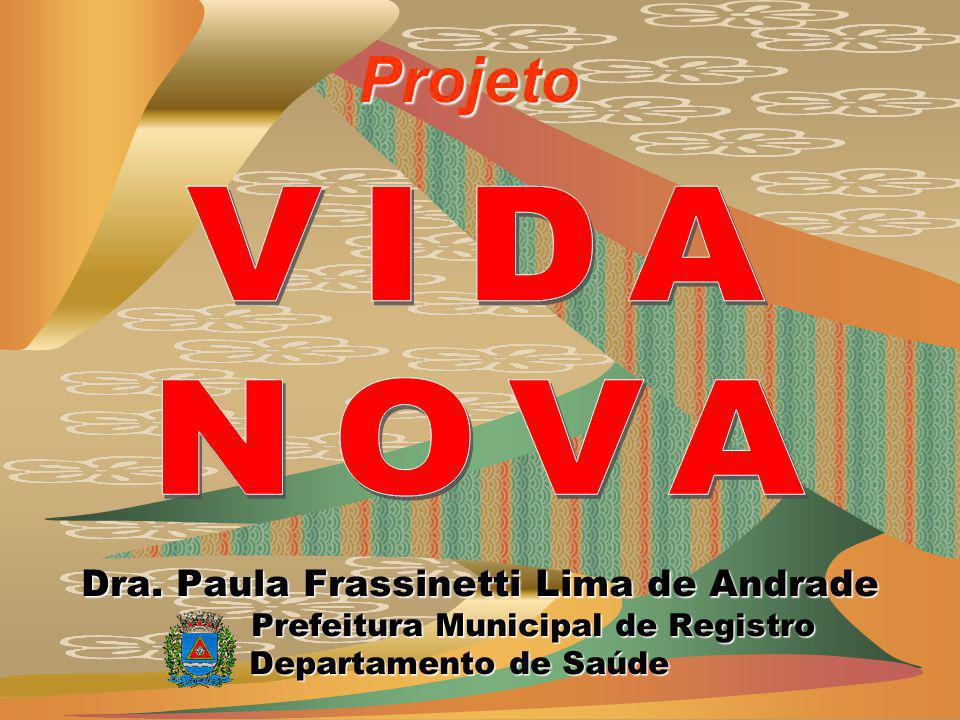Dra. Paula Frassinetti Lima de Andrade Prefeitura Municipal de Registro Prefeitura Municipal de Registro Departamento de Saúde Departamento de Saúde P