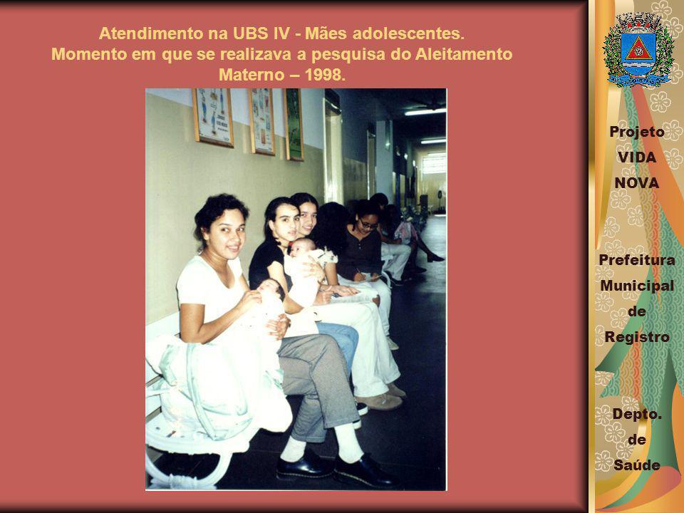 Atendimento na UBS IV - Mães adolescentes.