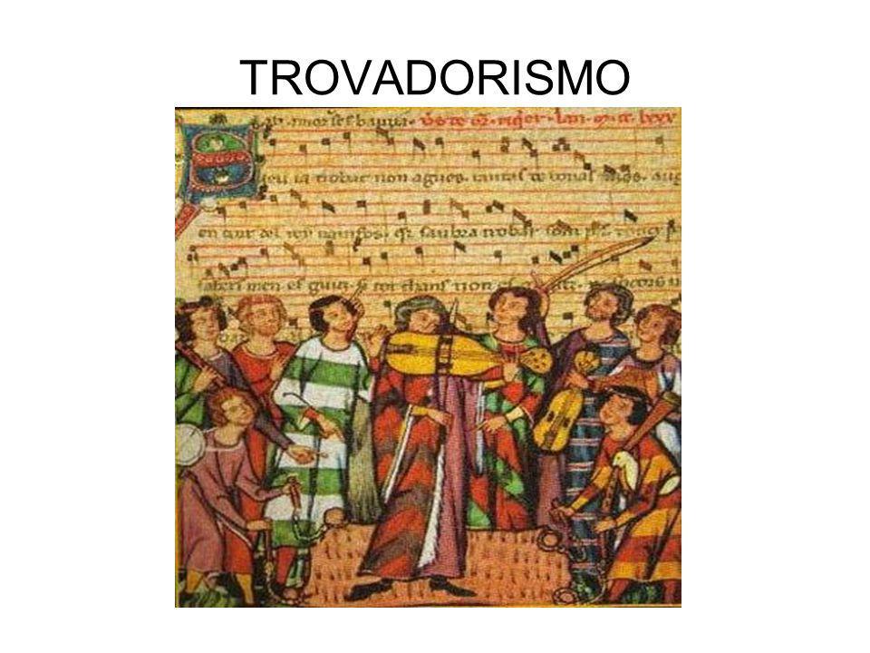 Escolas Literárias PORTUGAL Era Medieval Trovadorismo (séc.