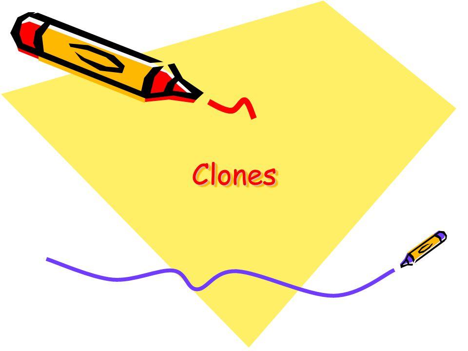 ClonesClones