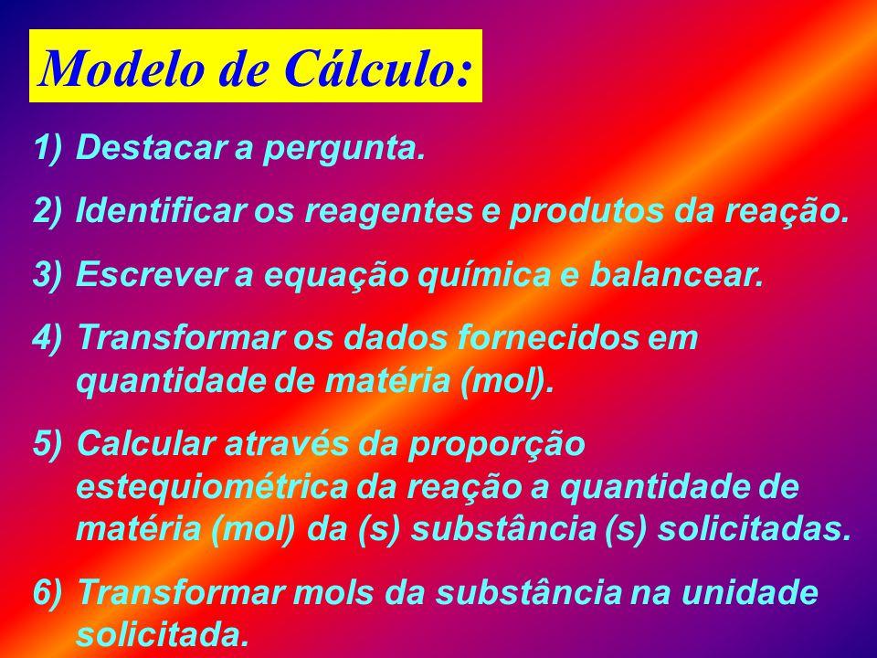 LEI DE PROUST: Lei das Proporções Constantes C + O 2 CO 2 Duplicando a quantidade de átomos todas as massas dobrarão. + + 2C + 2O 2 2CO 2