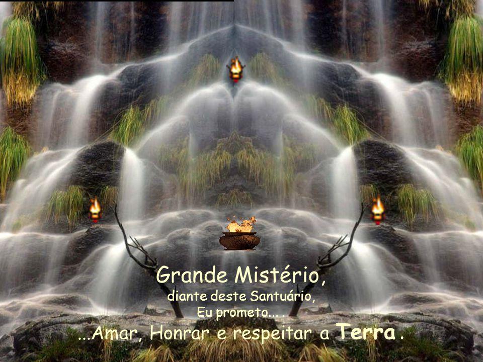 Wakan Tanka Grande Mistério, ensina-me a confiar Em meu coração, em minha mente, Em minha intuição, em minha sabedoria interna Nos sentidos do meu corpo, nas bênçãos do meu espírito.