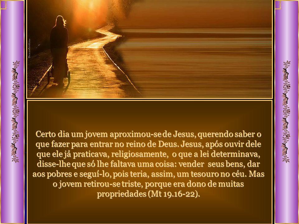 Isso acontece, também, no reino espiritual. Muita gente crê em Deus, sabe quem é Jesus, tem conhecimento de seus ensinamentos, mas, por não querer aba