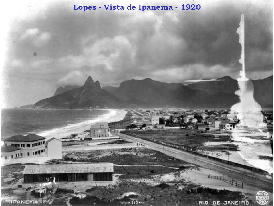 Lopes - Vista de Ipanema - 1920