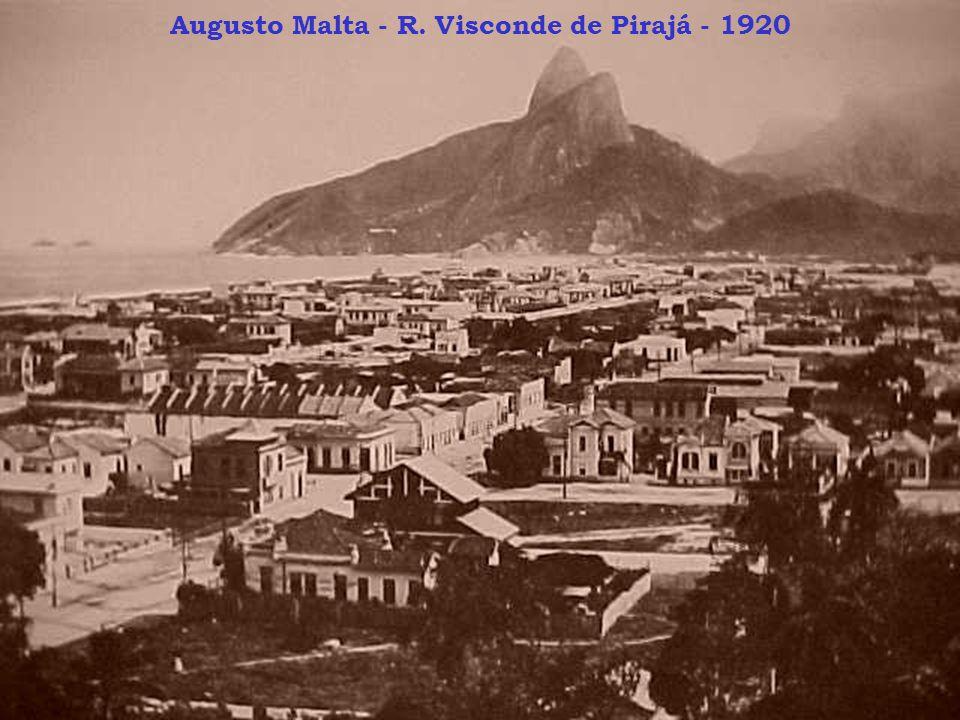 Augusto Malta - R. Visconde de Pirajá - 1920