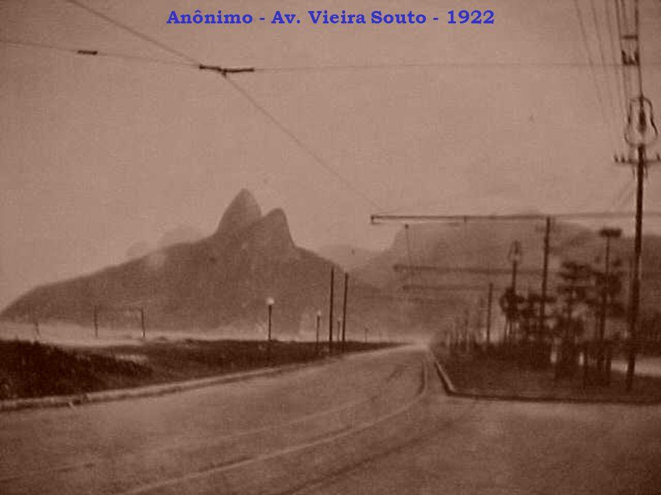 Anônimo - Av. Vieira Souto - 1922