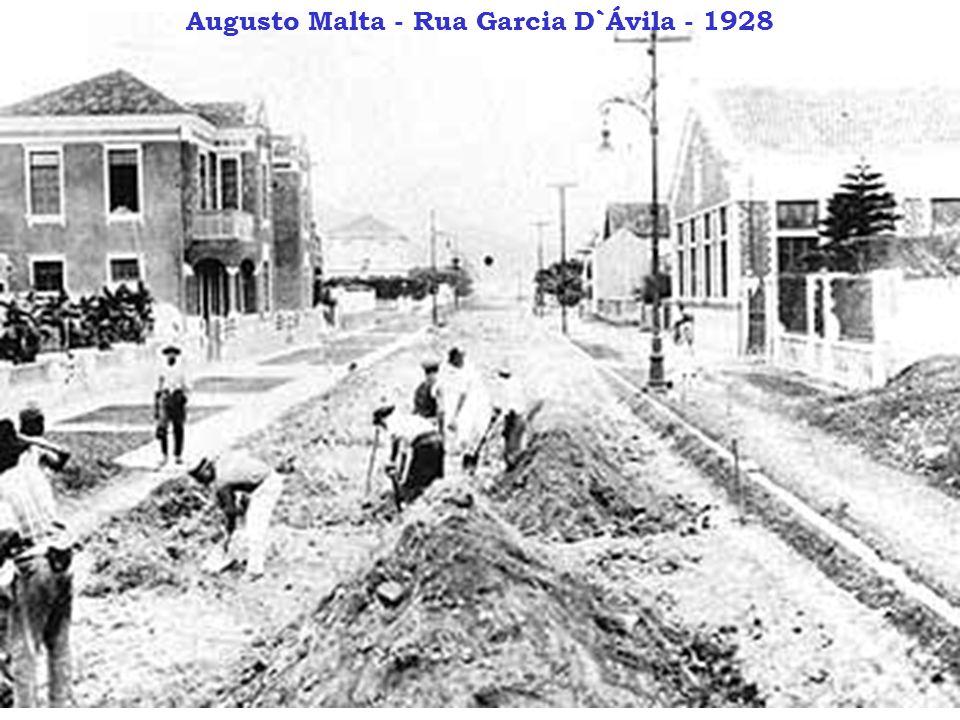 Augusto Malta - Rua Garcia D`Ávila - 1928
