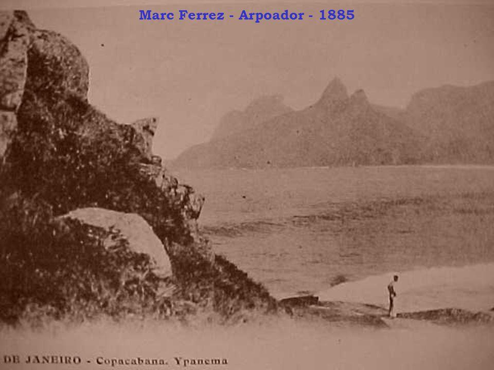 Marc Ferrez - Arpoador - 1885