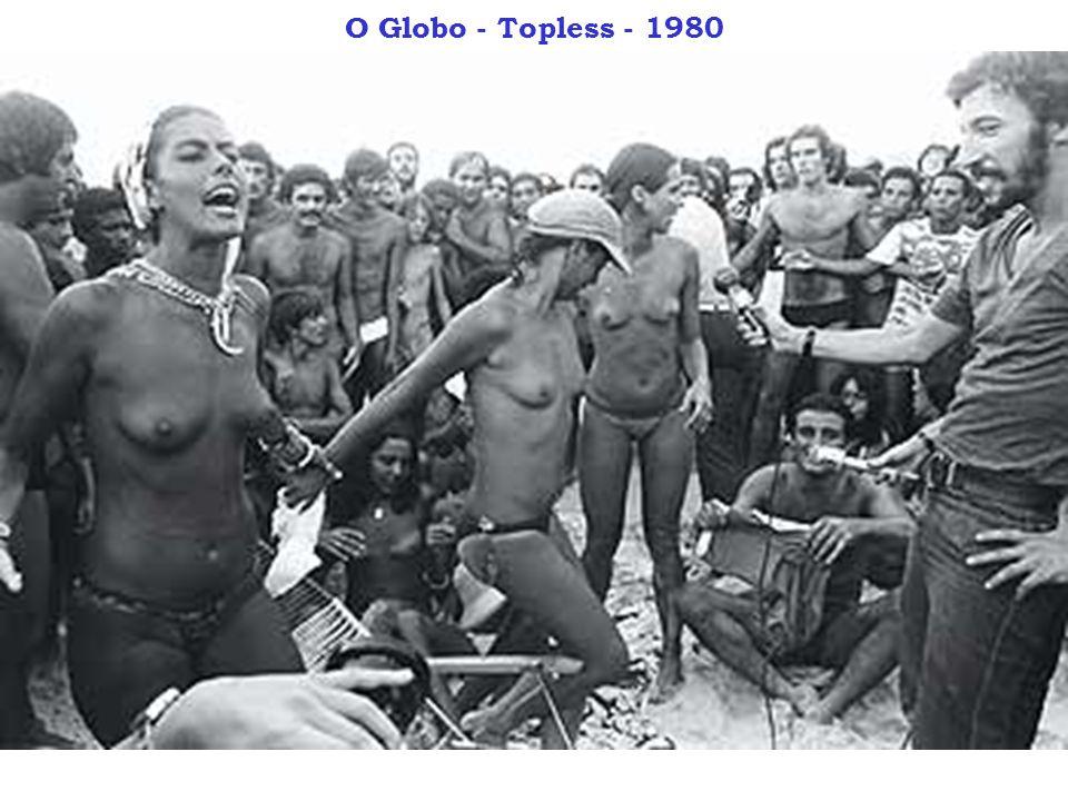 O Globo - Topless - 1980