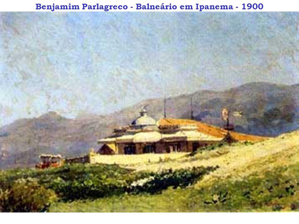 Benjamim Parlagreco - Balneário em Ipanema - 1900