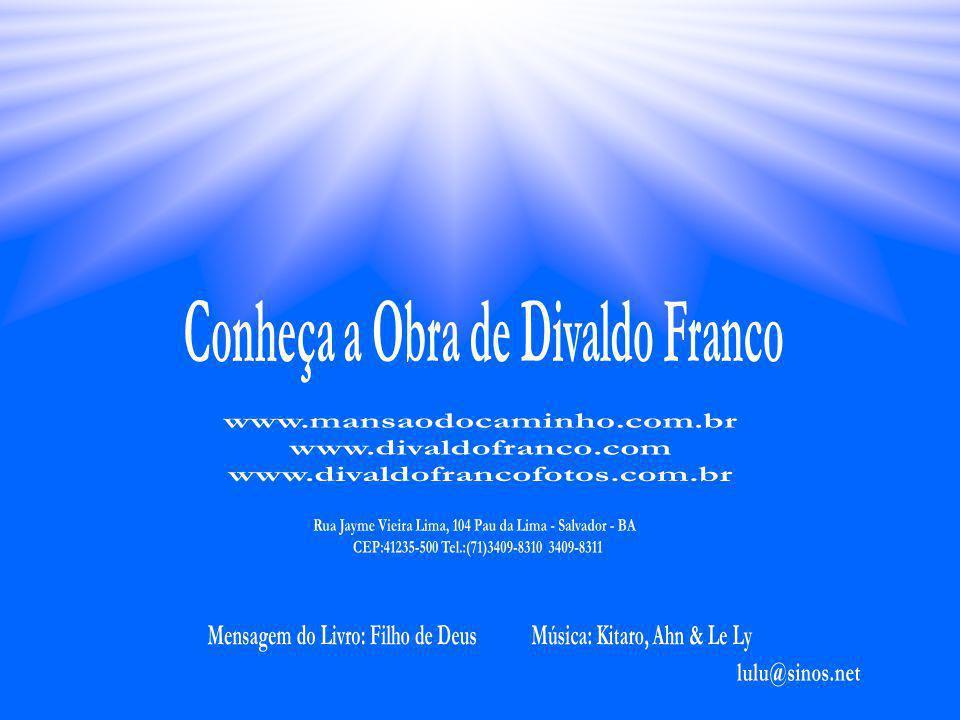 DIVALDO PEREIRA FRANCO É reconhecido como um dos maiores oradores espíritas da atualidade e o maior divulgador da Doutrina Espírita. Esse trabalho, in