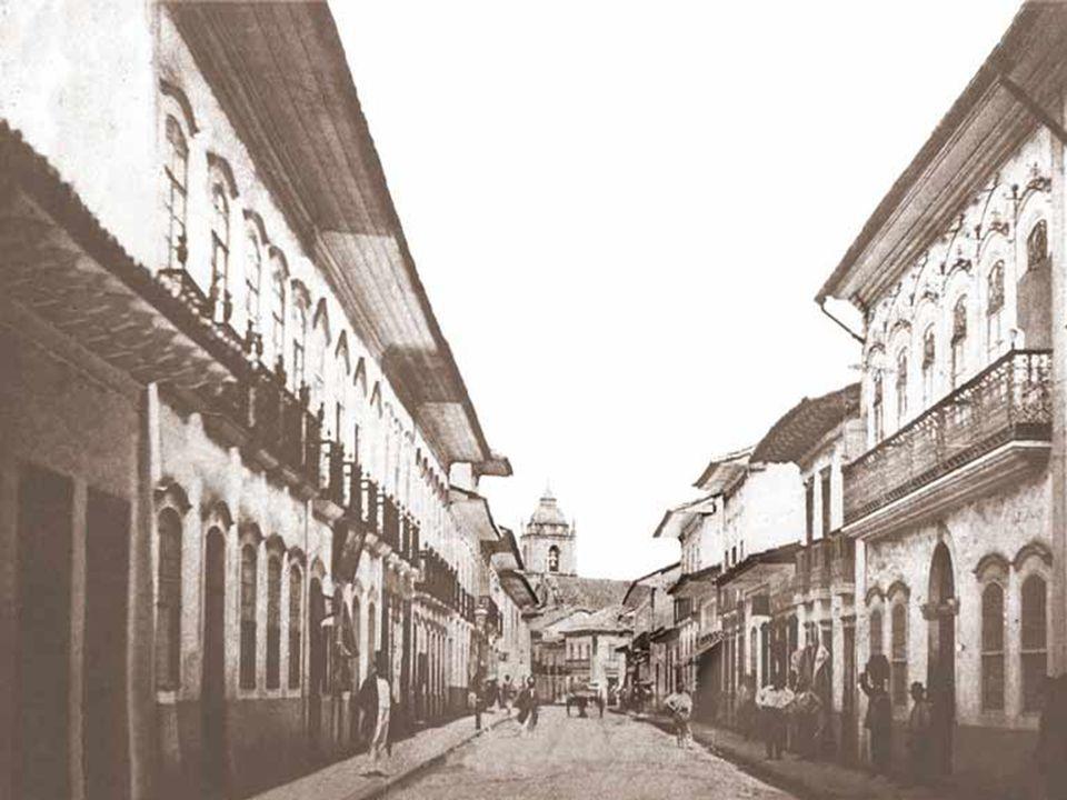 RUA DA SANTA CASA (atual Rua da Glória) em 1862 e 2006