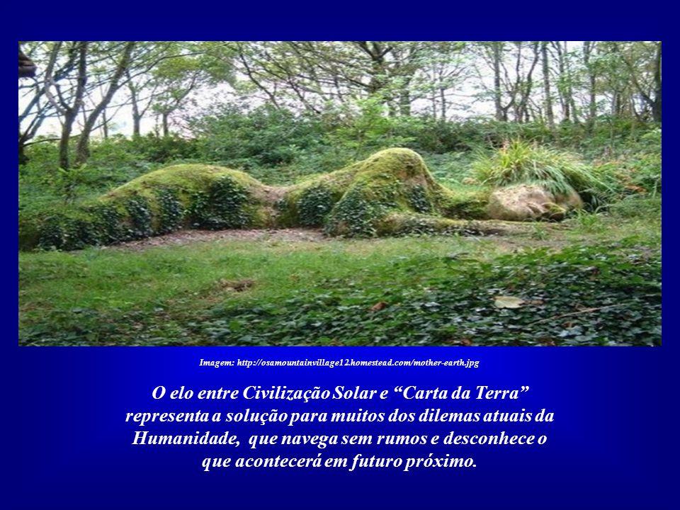 Imagem: http://osamountainvillage12.homestead.com/mother-earth.jpg Tal código já existe e está pronto: é a Carta da Terra. Quando milhares das mais av