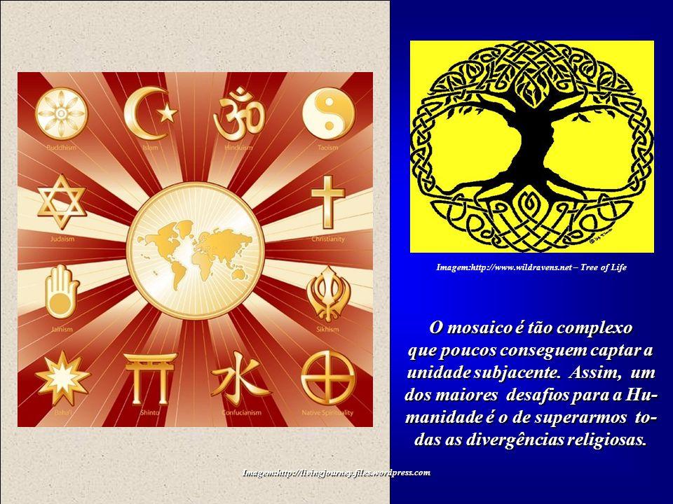 Imagem:http://livingjourney.files.wordpress.com Imagem:http://www.wildravens.net – Tree of Life A Árvore da Vida é a mesma para todos os povos e suas