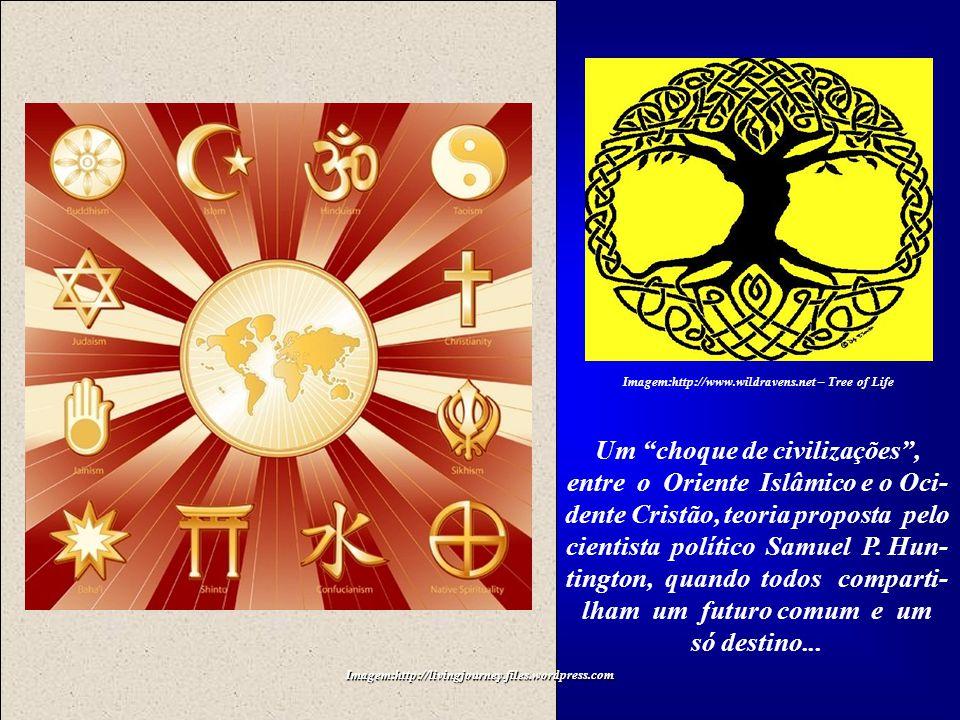 Imagem:http://livingjourney.files.wordpress.com Imagem:http://www.wildravens.net – Tree of Life O mosaico é tão complexo que poucos conseguem captar a
