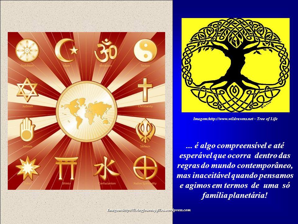 Imagem:http://livingjourney.files.wordpress.com Imagem:http://www.wildravens.net – Tree of Life Um choque de civilizações, entre o Oriente Islâmico e