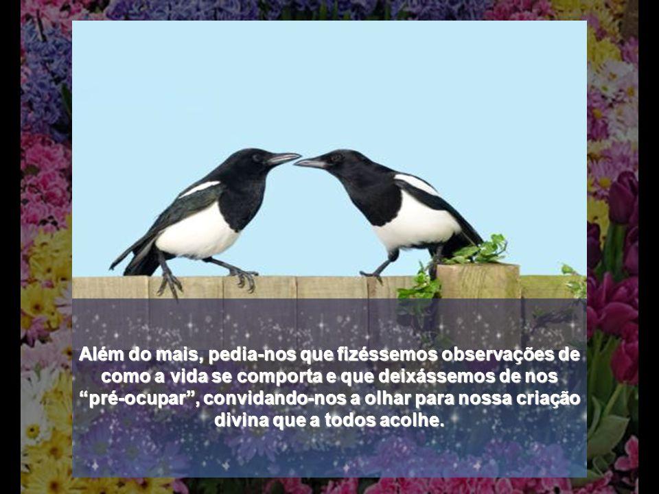 O Criador provê suas criaturas com o necessário, porquanto seria impossível a Natureza criar em nós uma necessidade sem nos dar meios para supri-la. V