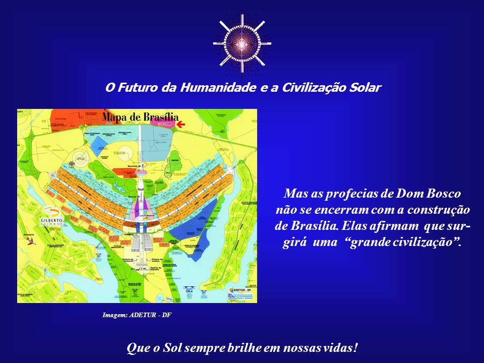 O Futuro da Humanidade e a Civilização Solar Que o Sol sempre brilhe em nossas vidas! Imagem: Vitral na Paróquia Nossa Senhora Auxiliadora de Londrina
