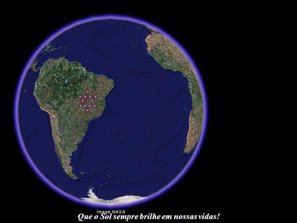 Que o Sol sempre brilhe em nossas vidas! Mas o objetivo do Brasil deverá ser maior. Com a quase inevitável elevação do nível oceânico, a sede da ONU d