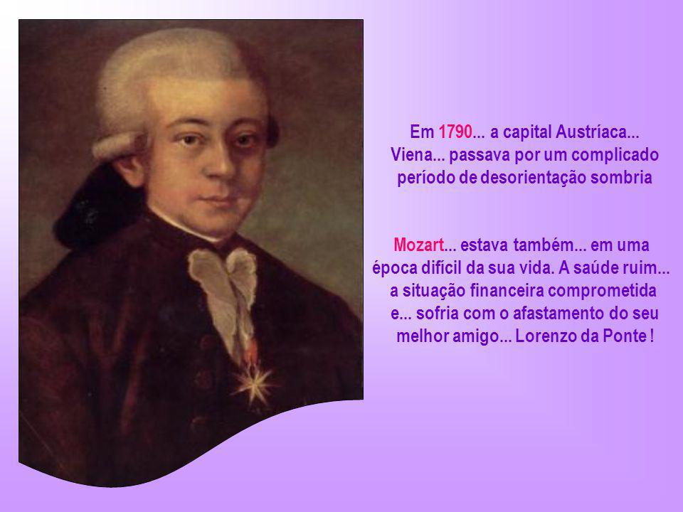 O alegre e encantador Mozart... compôs seu primeiro concerto aos 11 anos... com essa idade... já era considerado um compositor de altíssima qualidade