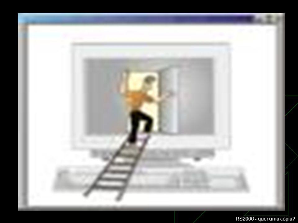 RS2006 - quer uma cópia? TIPOS DE INCLUSÃO DIGITAL IV Categorias de Inclusão Digital Induzida: Cognitiva – autonomia e independência no uso complexo d