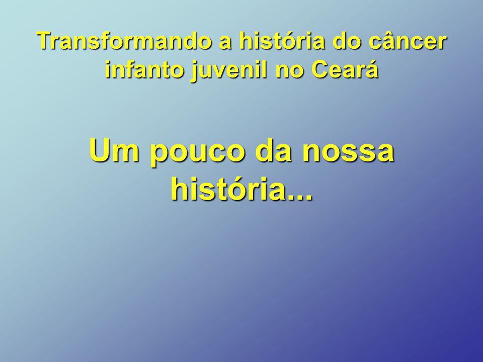 Um pouco da nossa história... Transformando a história do câncer infanto juvenil no Ceará