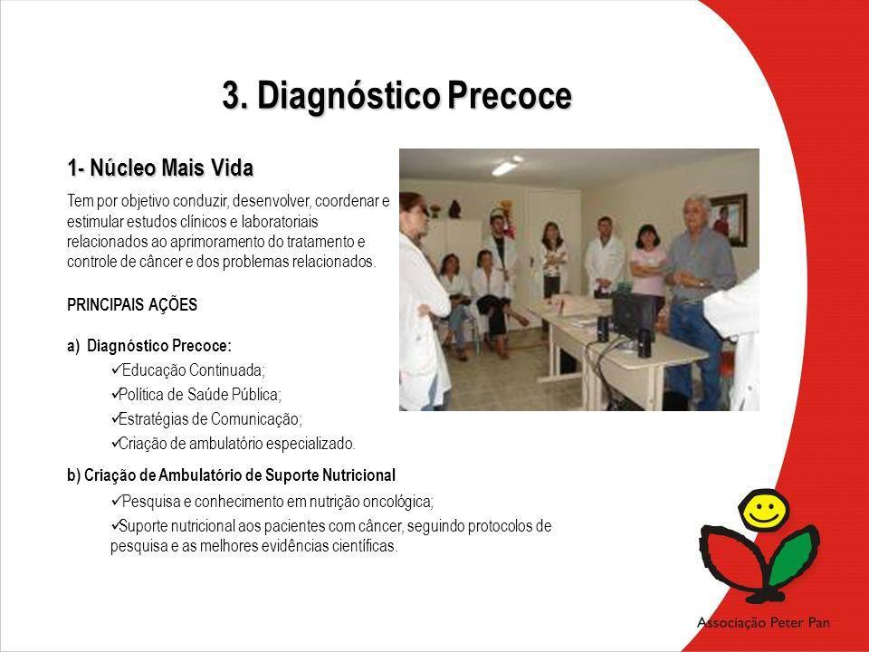 Tem por objetivo conduzir, desenvolver, coordenar e estimular estudos clínicos e laboratoriais relacionados ao aprimoramento do tratamento e controle