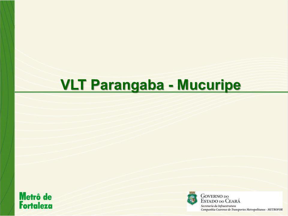 Dentro do conjunto de obras estruturantes em Fortaleza para a Copa de 2014 está a construção do Ramal Parangaba Mucuripe.