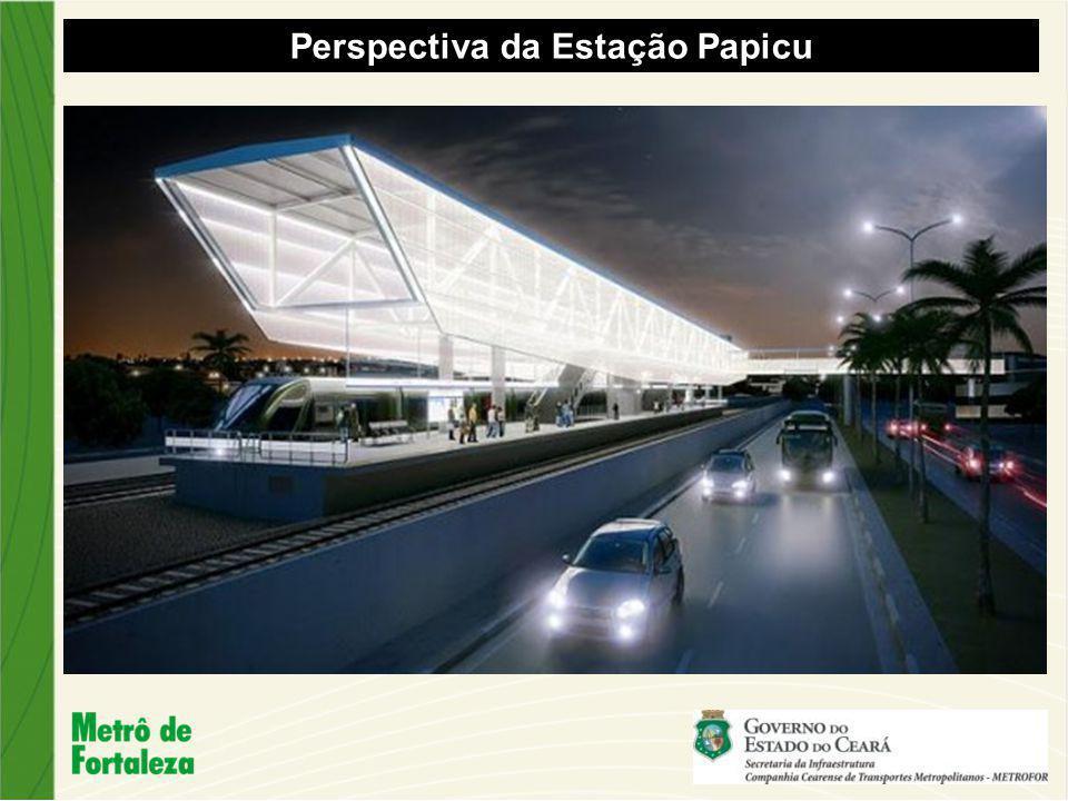 Perspectiva da Estação Papicu