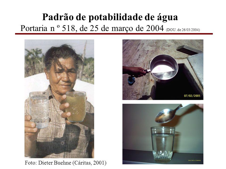 Qualidade da água bruta e tratamento de água NOTAS: FAD (flotação por ar dissolvido), COT (carbono orgânico total), NLO (número limiar de odor), UPA (unidade padrão de área).