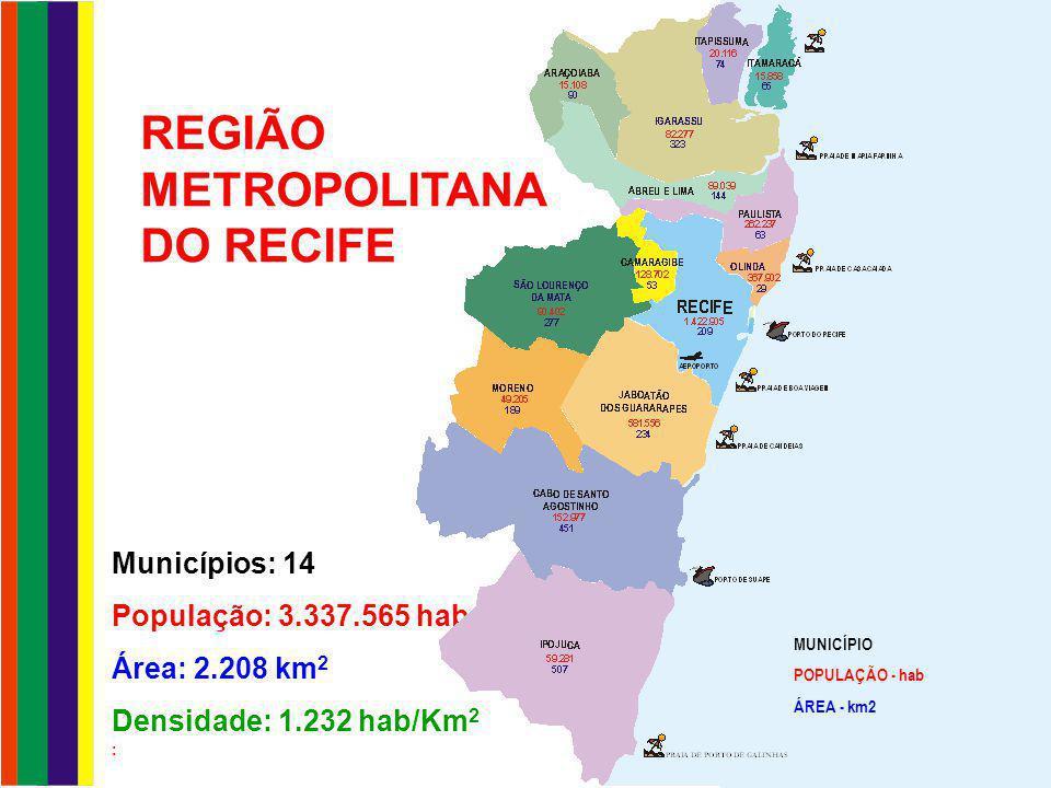 GESTÃO DO TRANSPORTE GESTÃO MUNICIPAL Linhas municipais convencionais - ônibus e VPP GESTÃO DA EMTU/RECIFE Linhas intermunicipais e municipais do Recife e parte das linhas de Jaboatão, Paulista, Abreu e Lima, Igarassu e de Camaragibe, integradas ao SEI Linhas convencionais de ônibus e VPP Linhas troncais e alimentadoras do SEI