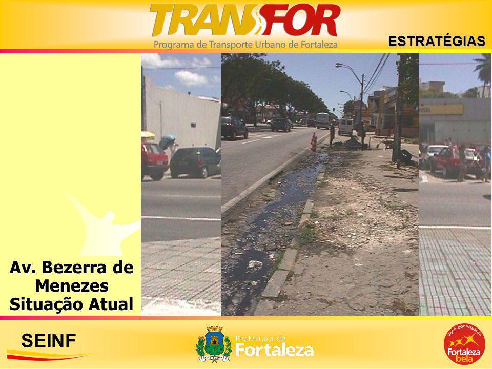 SEINF Av. Bezerra de Menezes Situação Atual ESTRATÉGIAS
