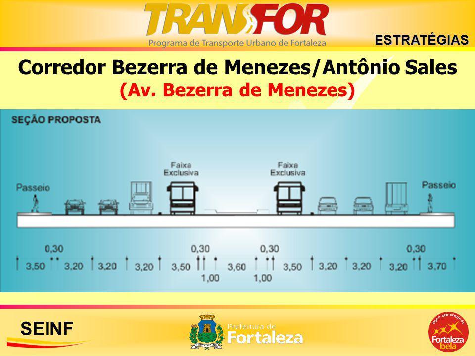 SEINF ESTRATÉGIAS Corredor Bezerra de Menezes/Antônio Sales (Av. Bezerra de Menezes)