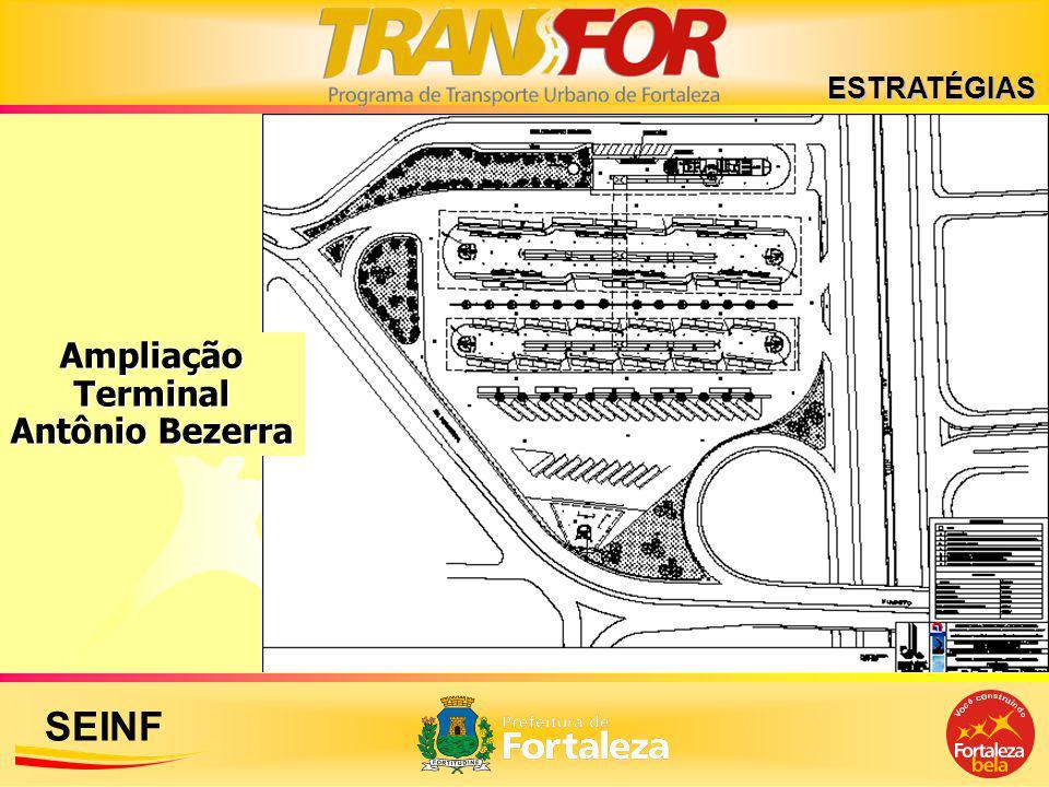 SEINF Ampliação Terminal Antônio Bezerra ESTRATÉGIAS