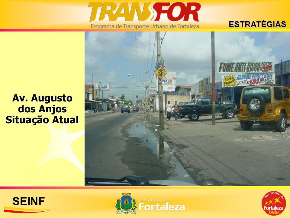 SEINF ESTRATÉGIAS Av. Augusto dos Anjos Situação Atual