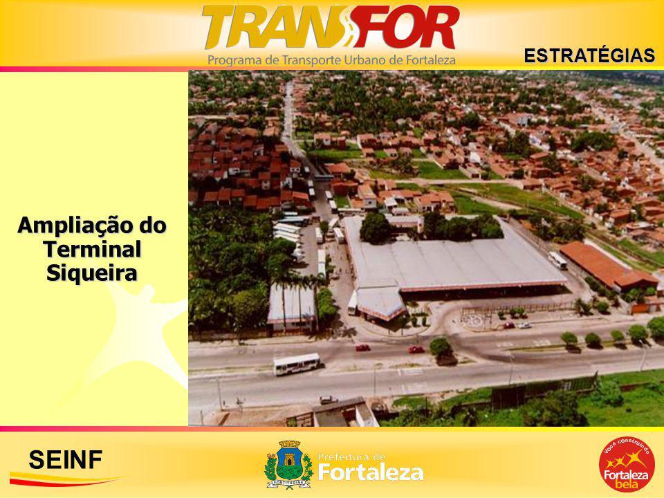 SEINF Ampliação do Terminal Siqueira ESTRATÉGIAS