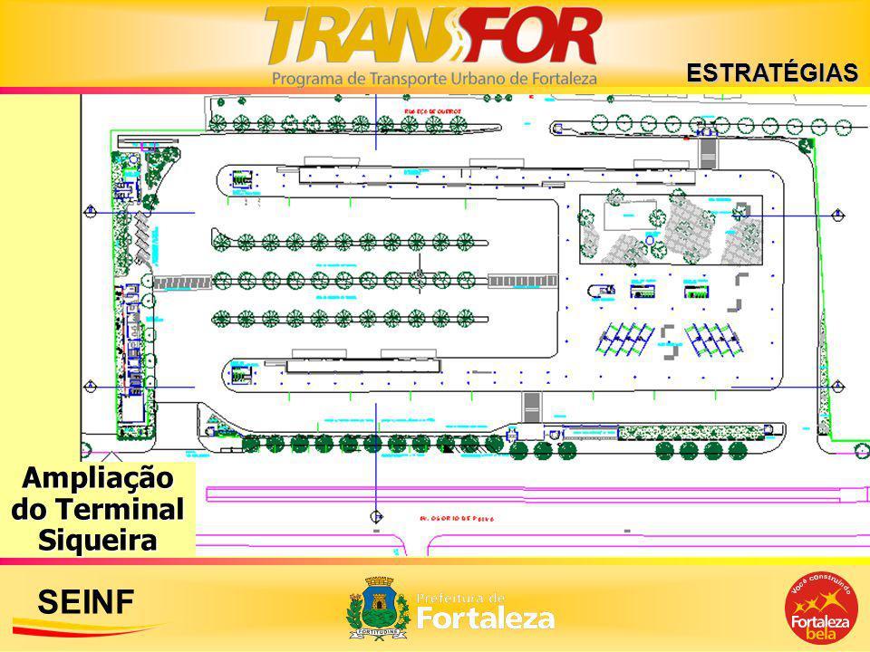 SEINF ESTRATÉGIAS Ampliação do Terminal Siqueira