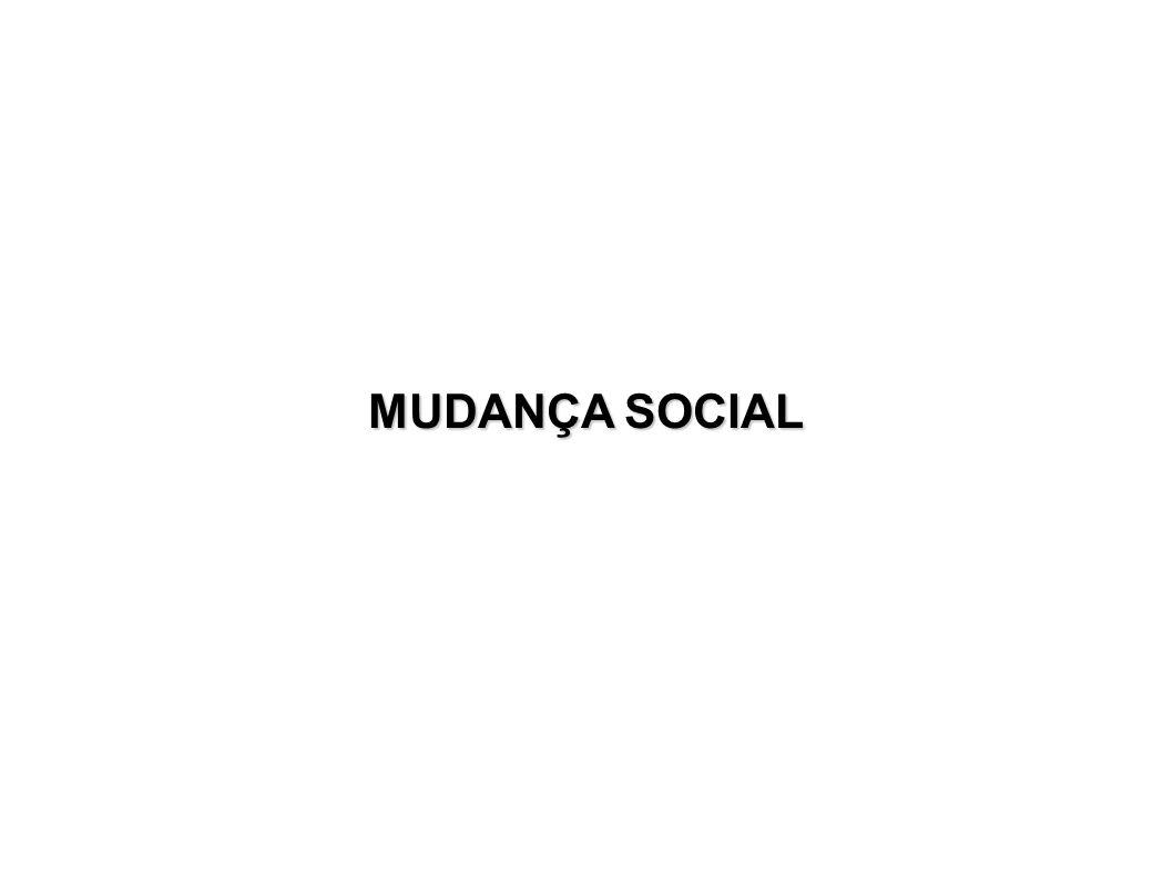 MUDANÇA SOCIAL