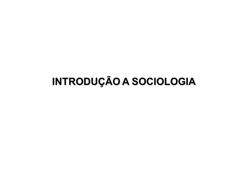 Contexto Histórico da Sociologia e Conceitos transformações sociais na Europa a partir do séc.