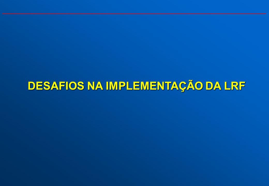 DESAFIO NA ELABORAÇÃO: UMA LEI DE FINANÇAS PÚBLICAS PARA A FEDERAÇÃO Estabelecer regras fiscais que se aplicassem a um contexto institucional complexo...