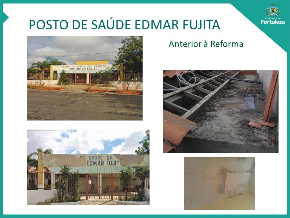 POSTO DE SAÚDE EDMAR FUJITA Anterior à Reforma