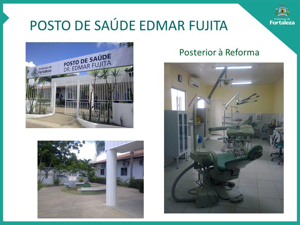 POSTO DE SAÚDE EDMAR FUJITA Posterior à Reforma