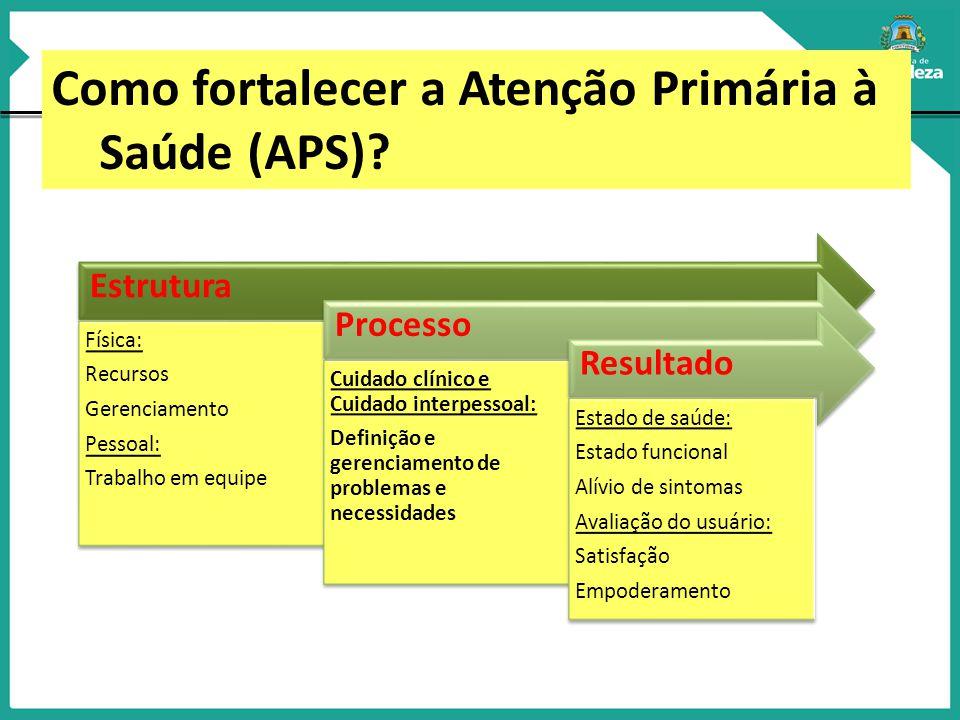 O PLANO DIRETOR DE ATENÇÃO PRIMÁRIA A SAÚDE DE FORTALEZA