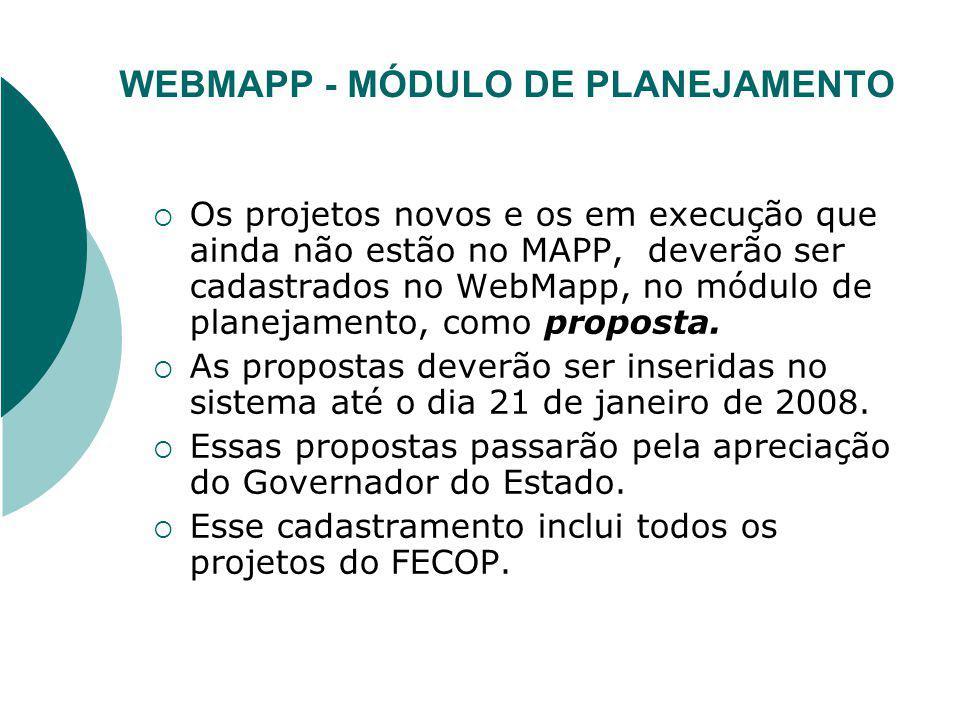 PROJETOS FINALISTICOS - SIAP Todos os PFs existentes no SIAP serão encerrados e os saldos dos contratos desvinculados.
