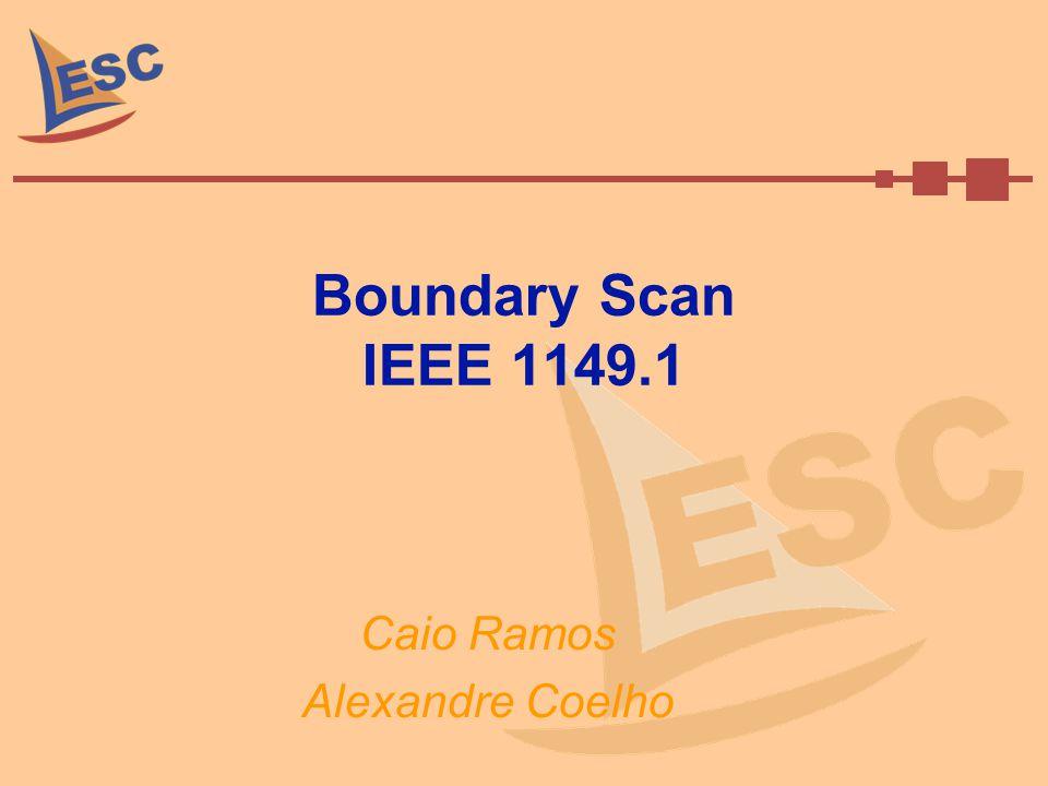 Boundary Scan IEEE 1149.1 Caio Ramos Alexandre Coelho