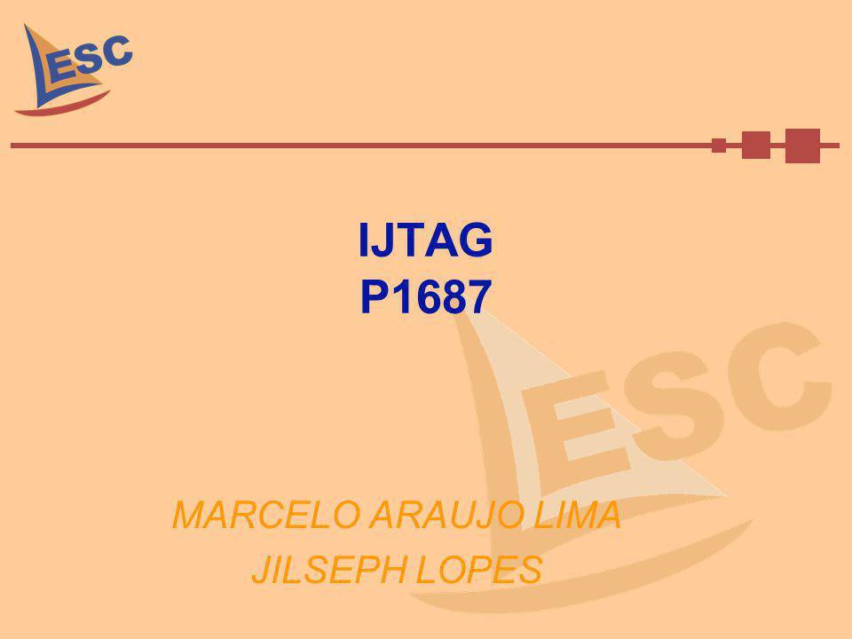 Objetivos Termos Introdução Norma P1687 Arquitetura IJTAG Estudo de Caso: IJTAG Language