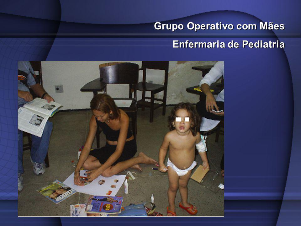 Grupo Operativo com Mães Enfermaria de Pediatria