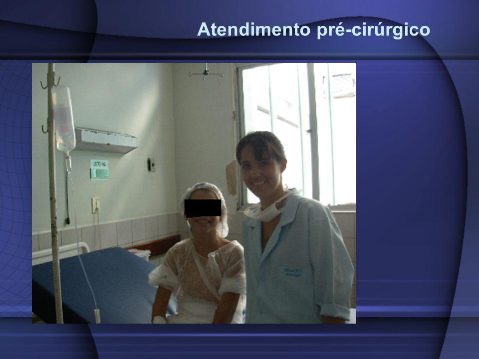 Atendimento pré-cirúrgico
