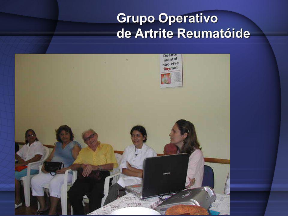 Grupo Operativo de Artrite Reumatóide Grupo Operativo de Artrite Reumatóide